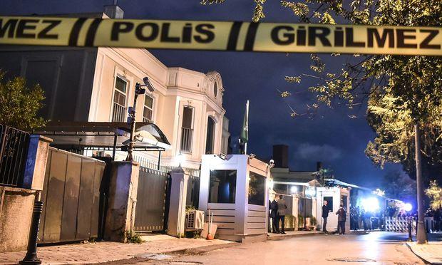 Das saudi-arabische Konsulat in Istanbul