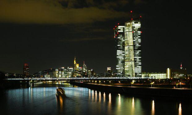 Büros der Zentrale der Europäischen Zentralbank (EZB)