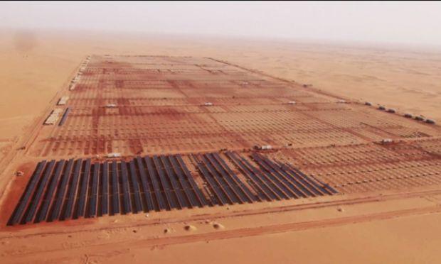 Soalrpark in der Wüste