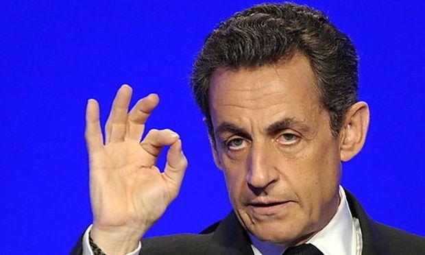 Der französische Präsident Nicolas Sarkozy