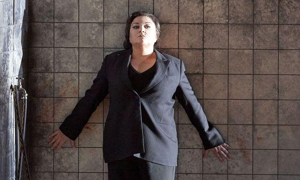 Sie meistert die Monsterpartie mühelos: Elena Pankratova als Elektra.