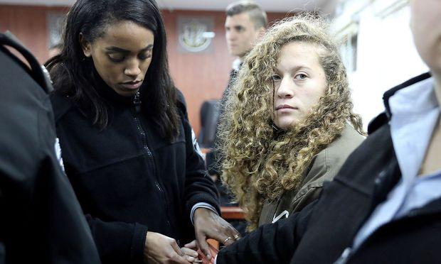 Die Palästinenserin Tamimi attackierte israelische Sicherheitskräfte.