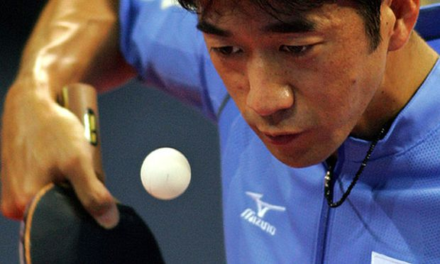 Koji Matsushita in einem normalen Match 2004