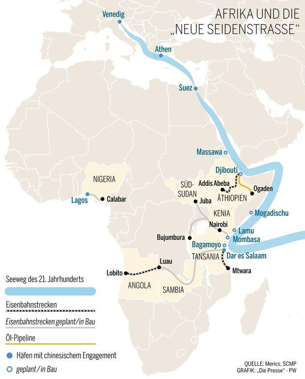 Partner oder Eroberer?:China baut Einfluss in Afrika weiter aus