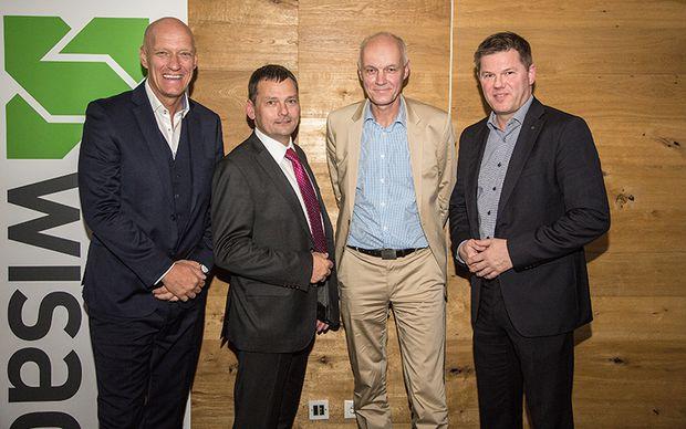 Wolfgang Langer, Heinz Friedl, Gerhard Schuster und Jörg Dreger.