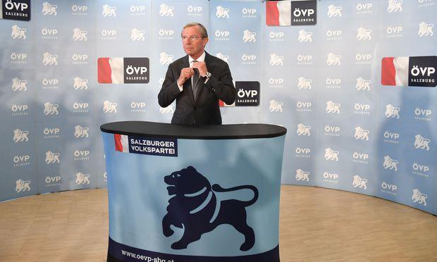Salzburgs ÖVP-Landeschef Haslauer
