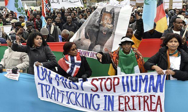 Themenbild: Demostrationen in Eritrea