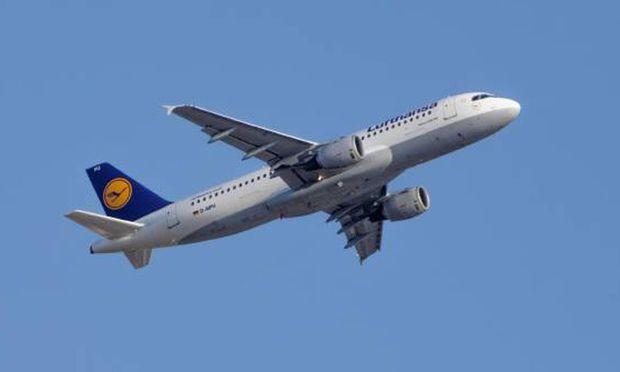 Frankfurt LufthansaAirbus nach Wien
