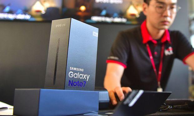 Das Samstung Galaxy Note 7 (Archivbild) brachte dem südkoreanischen Konzern nur Negativschlagzeilen.