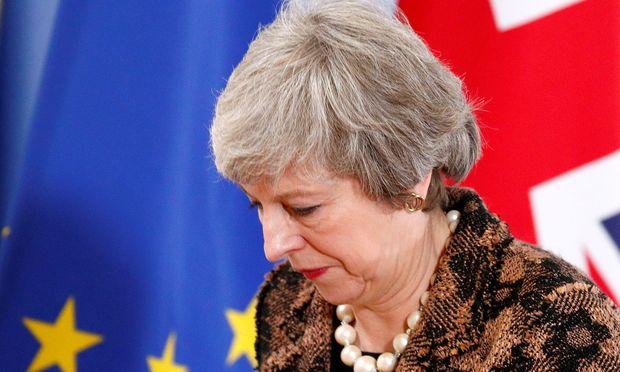Theresa May wird am Montag im Unterhaus sprechen