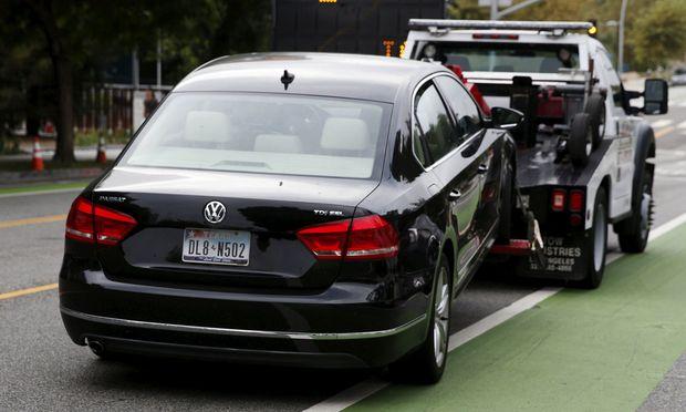 Fünf VW-Manager wurden von der US-Justiz weltweit zur Fahndung ausgeschrieben. Betreten sie amerikanischen Boden, müssen sie mit einer Festnahme rechnen. / Bild: (c) REUTERS (LUCY NICHOLSON)