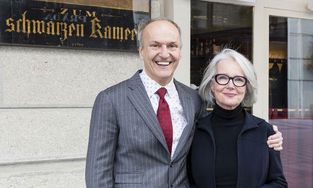 Peter Friese und Martina Walli feiern das Jubiläum mit Kunst und Kindern.