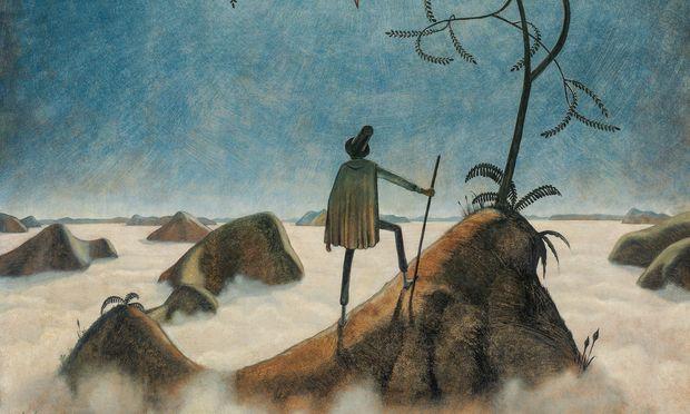 """""""Landschaft mit Nebelmeer"""" von Franz Sedlacek hat einen oberen Schätzwert von 500.000 Euro. Das wäre ein neuer Rekord."""