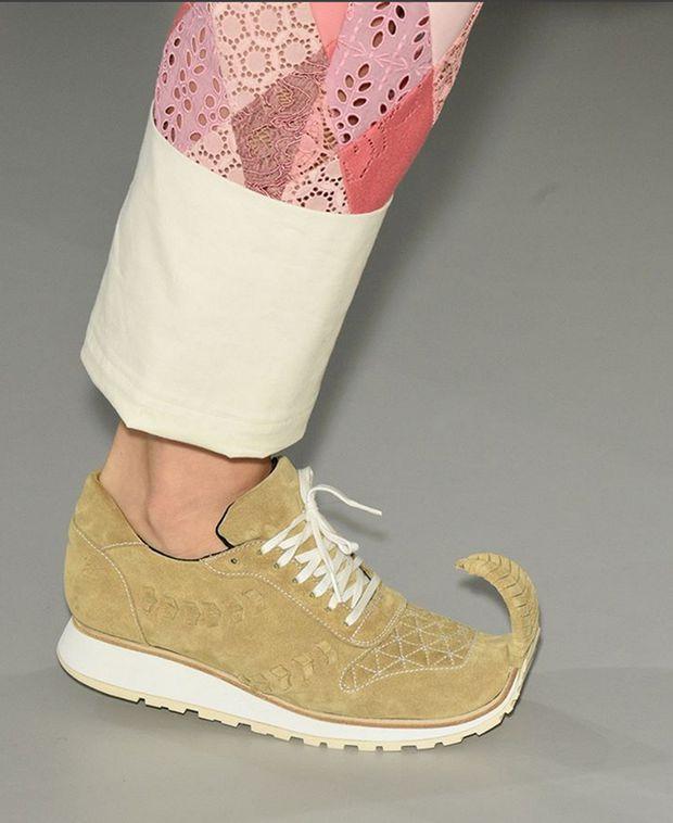 Hässliche Schuhe