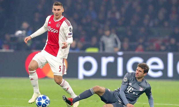 AMSTERDAM Ajax Bayern Munchen football Champions League Season 2018 2019 12 12 2018 Johan Cr