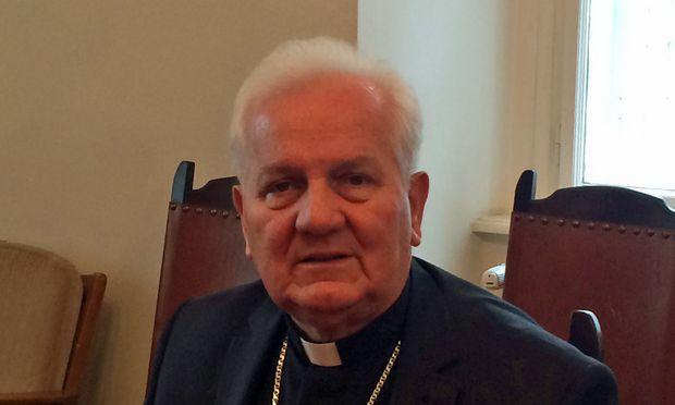 Banja Lukas Bischof, Franjo Komarica.