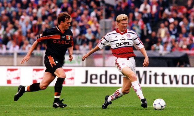 Im DFB-Pokalfinale 1999 bezwang Werder Bremen mit Andreas Herzog als Spielmacher Stefan Effenberg und Co. im Elfmeterschießen.