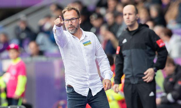 Trainer Roman Mählich.
