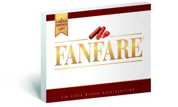 Die neue Fanfare-Packung