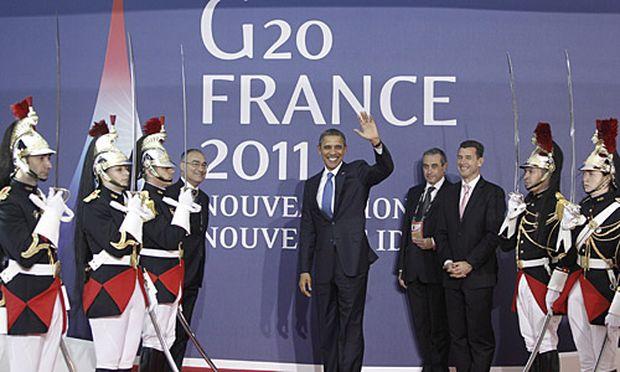 Die G20 beraten auch über die Regulierung der Finanzmärkte.