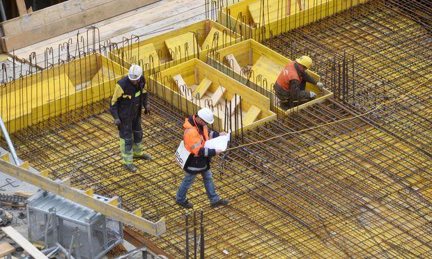 Symbolbild: Bauarbeiter