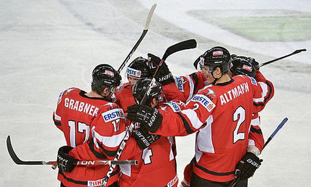 Österreichs Eishockeyteam