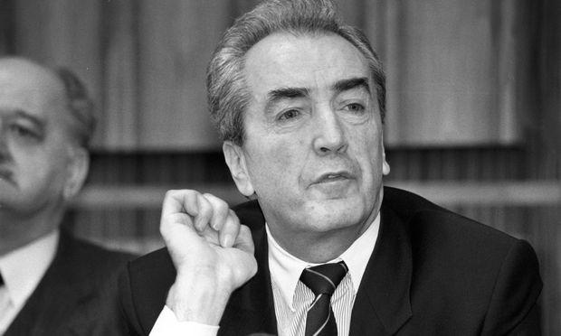 Alois Mock im Jahr 1993