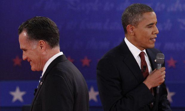 Obama Romney letztem Fernsehduell