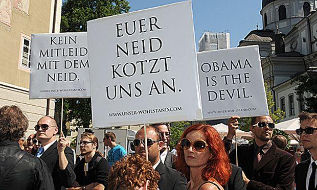 Salzburger Festspiele: Protest und