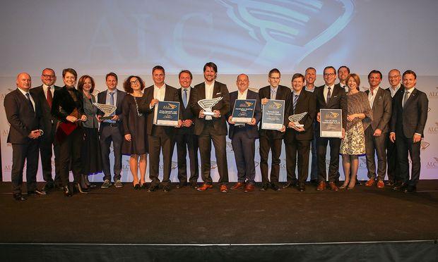 Die Sieger aus Kärnten mit Ihren Laudatoren / Bild: (c) Guenther Peroutka