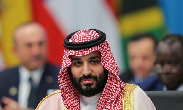 Mohammed bin Salman beim G20-Gipfel