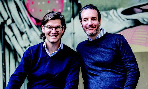 Valentin Stalf und Maximilian Tayental, Gruender von N26