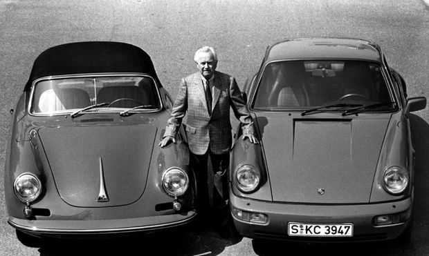 GERMANY - FILES/FERRY PORSCHE WITH CARS