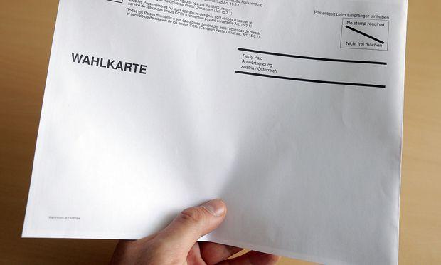 Symbolbild - Wahlkarte