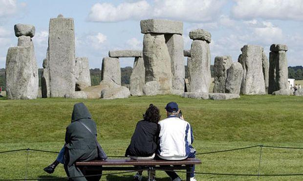 Zweites Stonehenge Holz