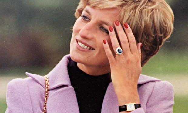 """Auch Prinzessin Di schätzte die """"Cartier Tank""""."""