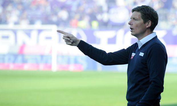 Ab Sommer gibt Noch-Lask-Trainer Oliver Glasner seine Kommandos beim VfL Wolfsburg in der deutschen Bundesliga.