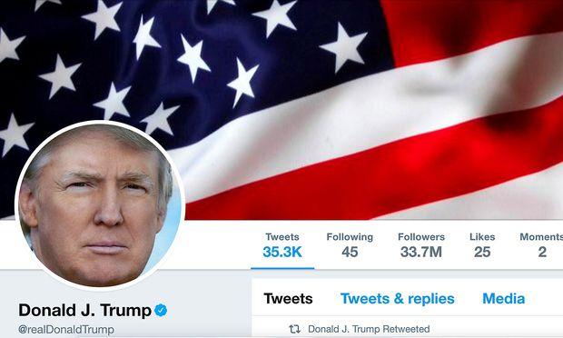 Donald Trumps Twitter-Account war kurzzeitig gesperrt
