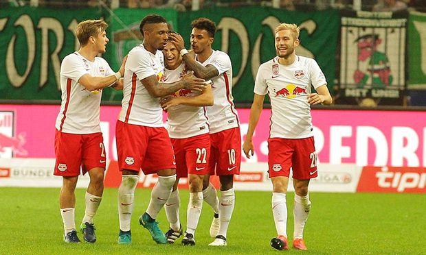 FUSSBALL TIPICO BUNDESLIGA: RED BULL SALZBURG - SK RAPID WIEN