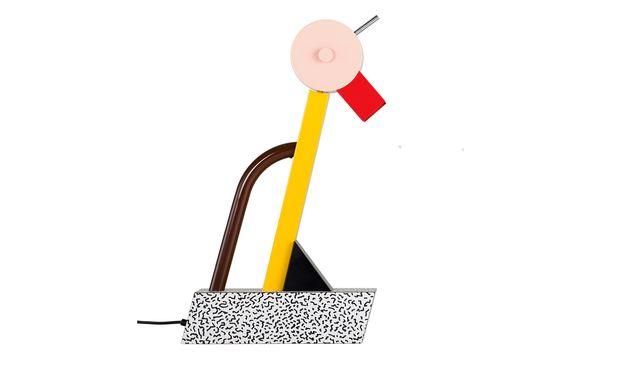 """Mischung. """"Tahiti"""", der Entwurf der Tischlampe stammt aus dem Jahr 1981."""