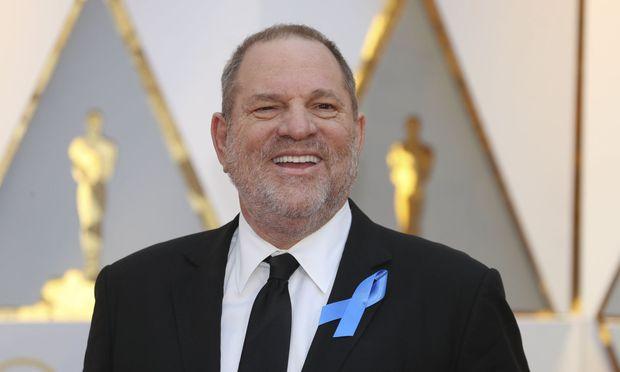 Harvey Weinstein bei der Oscar-Verleihung 2017