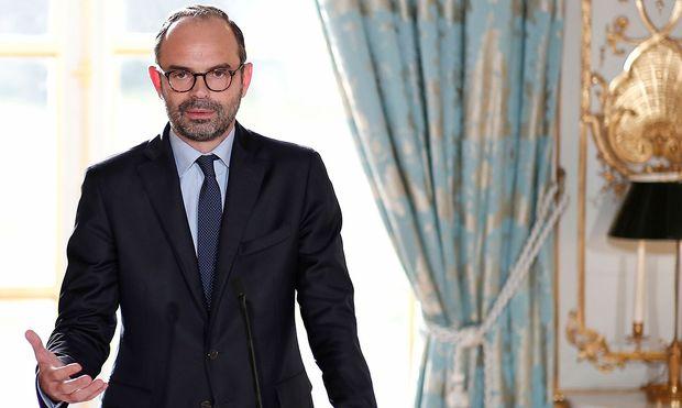 Premier Edouard Philippe begründet das neue Tempolimit mit den hohen Unfallzahlen.