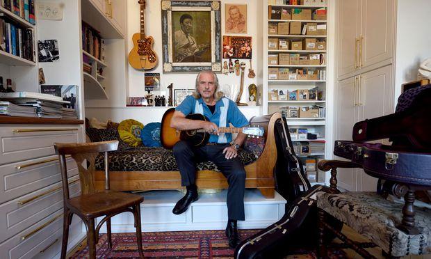 Blues-Musiker Hans Theessink.