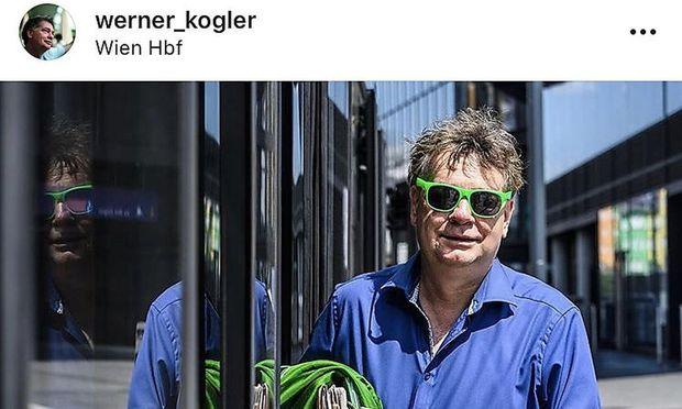 Werner Kogler auf Instagram