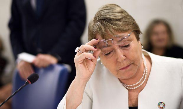 """Michelle Bachelet und ihre Mitarbeiter haben vermutlich nicht das jüngste """"Spiegel""""-Interview von Sebastian Kurz gelesen."""