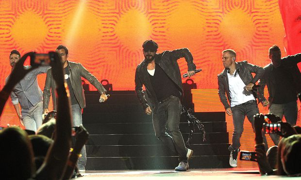 World Tour Backstreet Boys Kommen 2019 Nach Wien Diepressecom