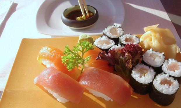Sushi Austern Auswaerts essen