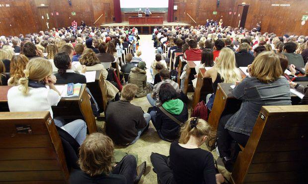 Hörsaal Uni Wien