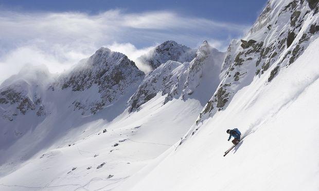 Viele suchen die Weite des freien Skiraums (hier Arlberg).