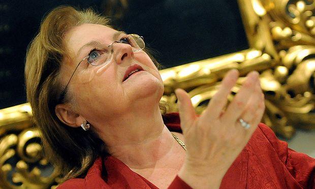Edita Gruberova erhaelt KarajanMusikpreis